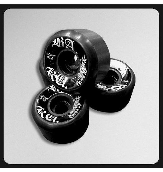Skull Skates BAKU Wheels Black 60mm 95A