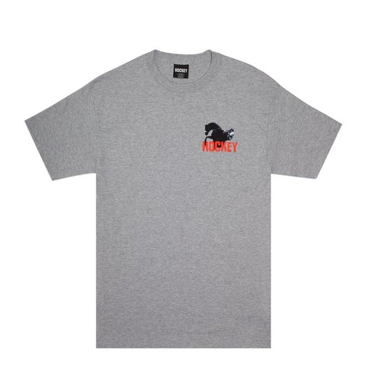 Hockey Hockey Rodeo Tee - Grey Heather