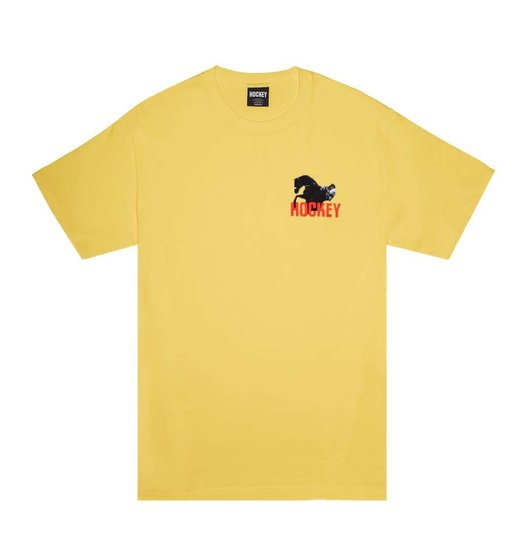 Hockey Hockey Rodeo Tee - Yellow