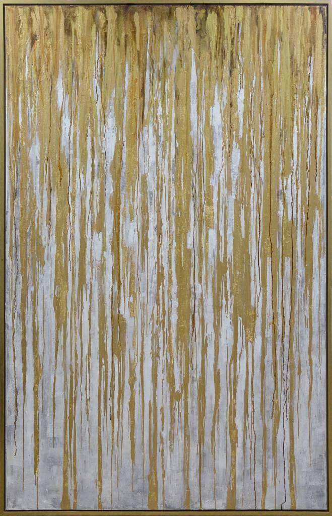 SPECTRE GOLD FRAMED ART