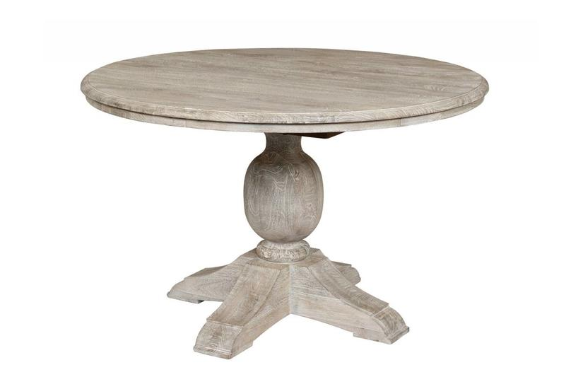 VENTURA DINING TABLE 60'' - ANTIQUE WHITE