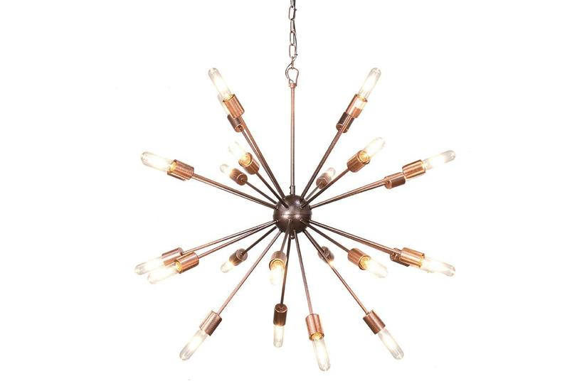 Alanya Starburst Chandelier - Large