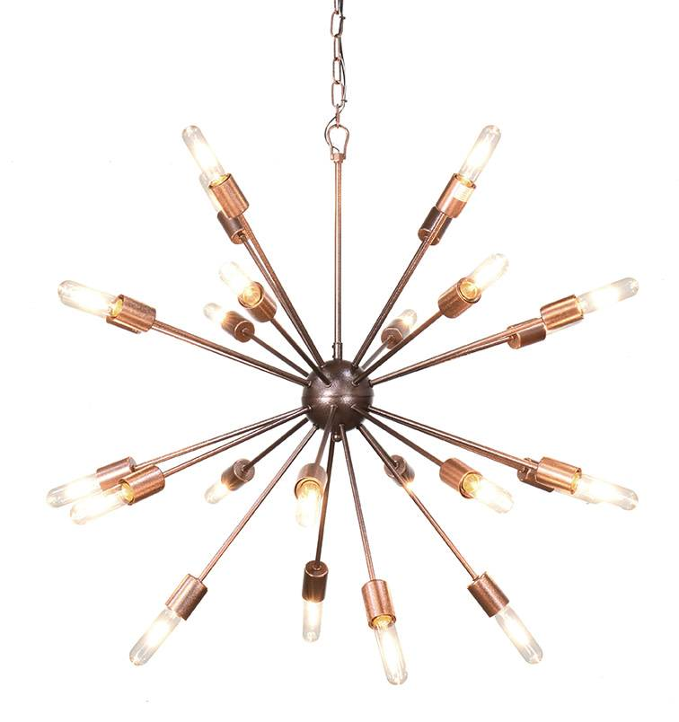 Alanya Starburst Chandelier Large