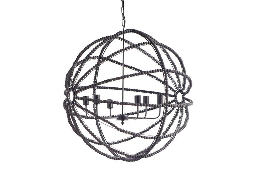 AVA ORB CHANDELIER - BLACK