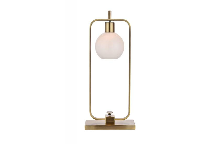 CROSBY TABLE LAMP - BRASS