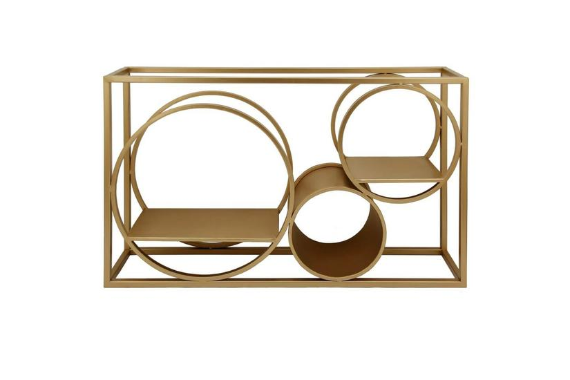 MATSON WALL SHELF - GOLD