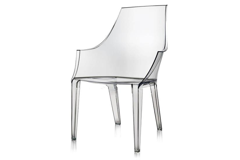 LOGAN ACRYLIC ARM CHAIR