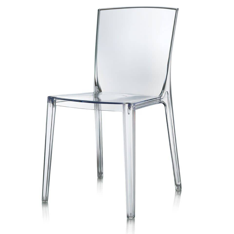 LOGAN ACRYLIC SIDE CHAIR