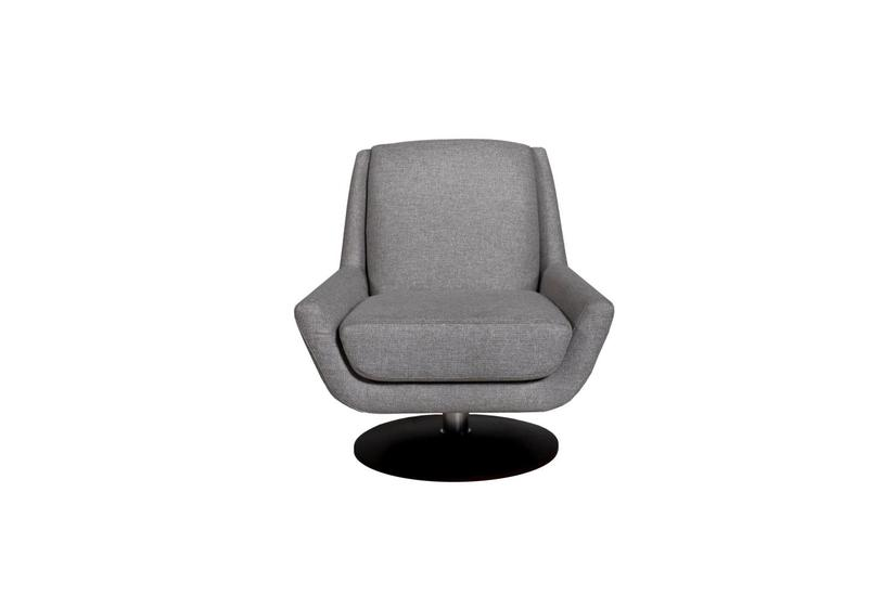 PERRY SWIVEL CHAIR - SILVER