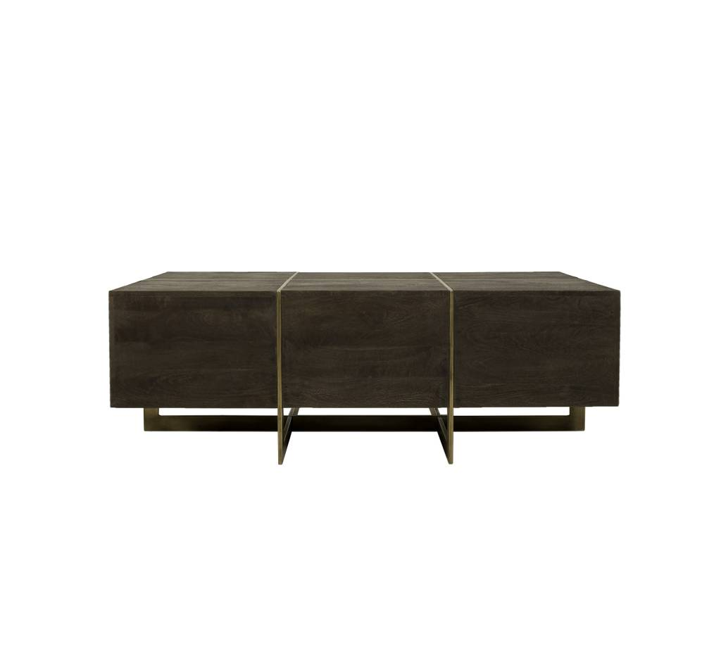 DRAY COFFEE TABLE - ESPRESSO