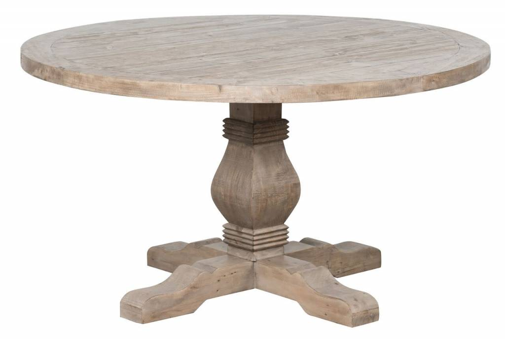 "CALEB 55"" ROUND DINING TABLE"