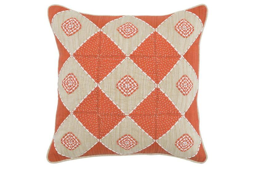 DEMI ORANGE PILLOW