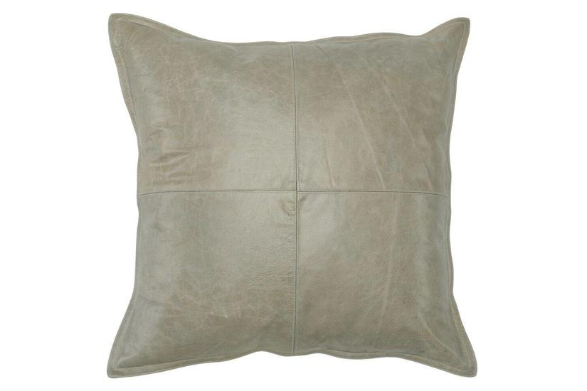 PIKE LEATHER SQUARE PILLOW
