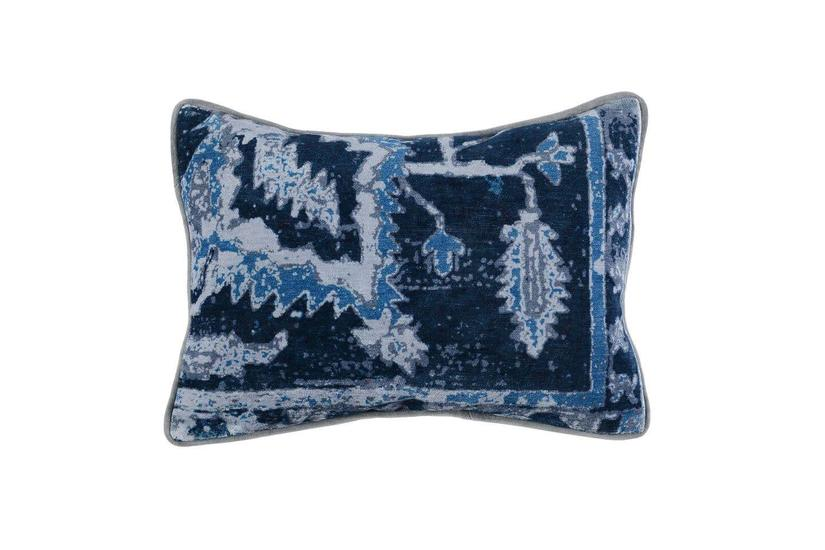 STELLA DUSTY BLUE PILLOW