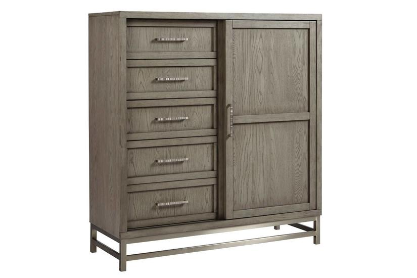 MILAN 5-DRAWER 1-DOOR CHEST