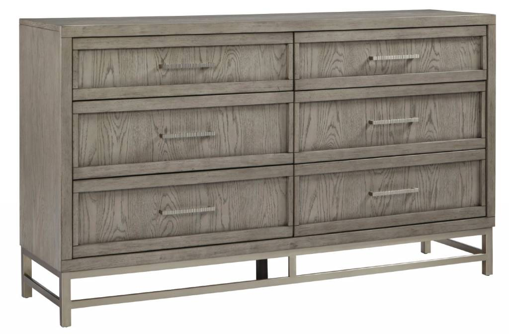 MILAN 6-DRAWER DRESSER