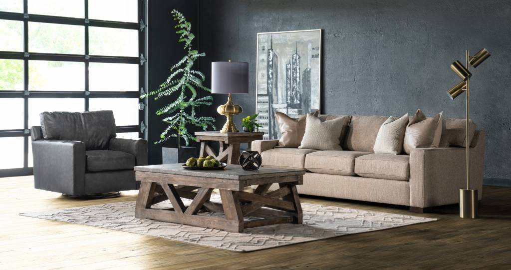 MARBELLA COFFEE TABLE - MOCHA