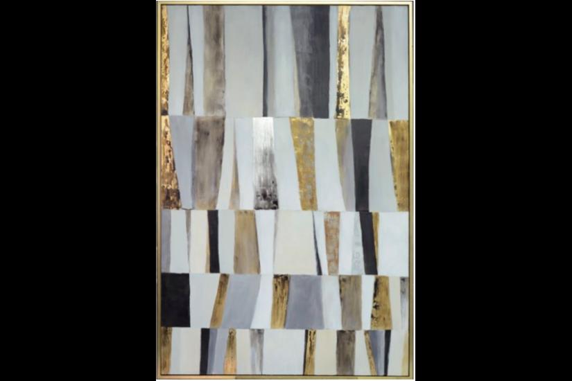 SHUTTER FRAMED ART 48X72