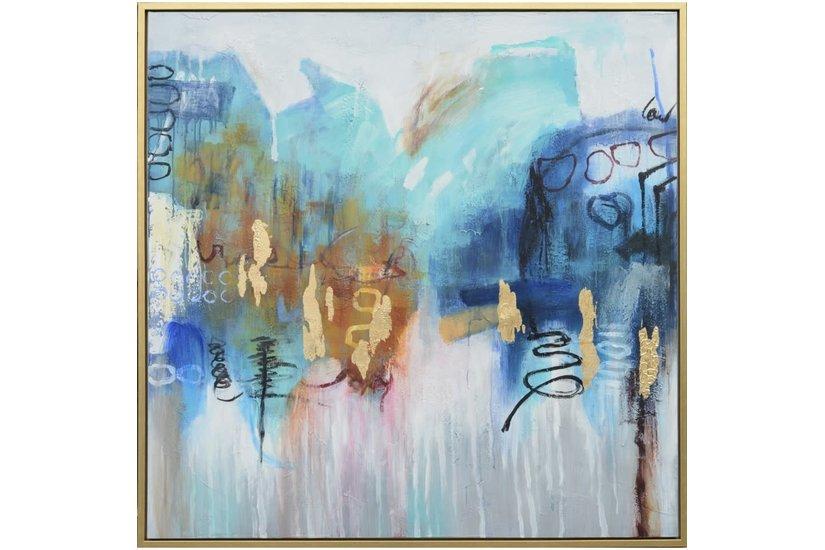 HOPE FRAMED ART 48X48