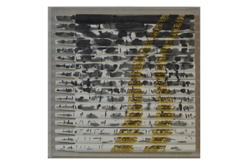 METALLIQUE II FRAMED ART