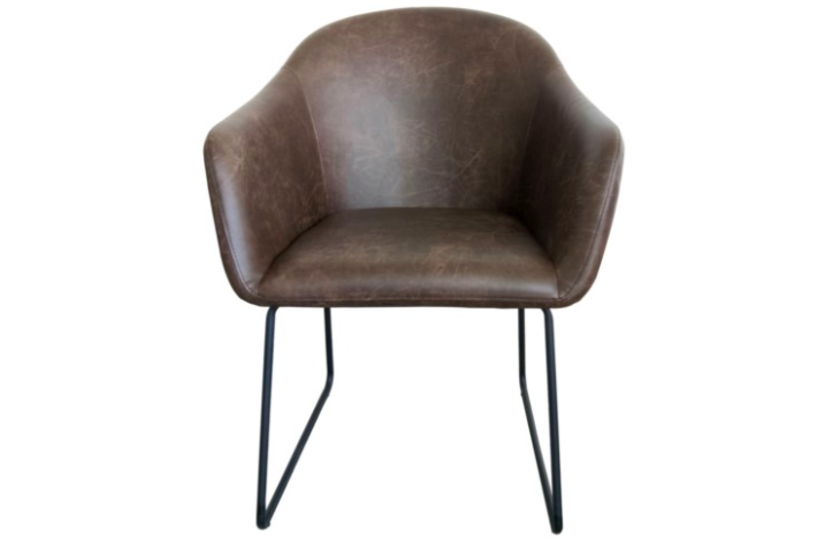 GALWAY CHAIR BROWN - disc