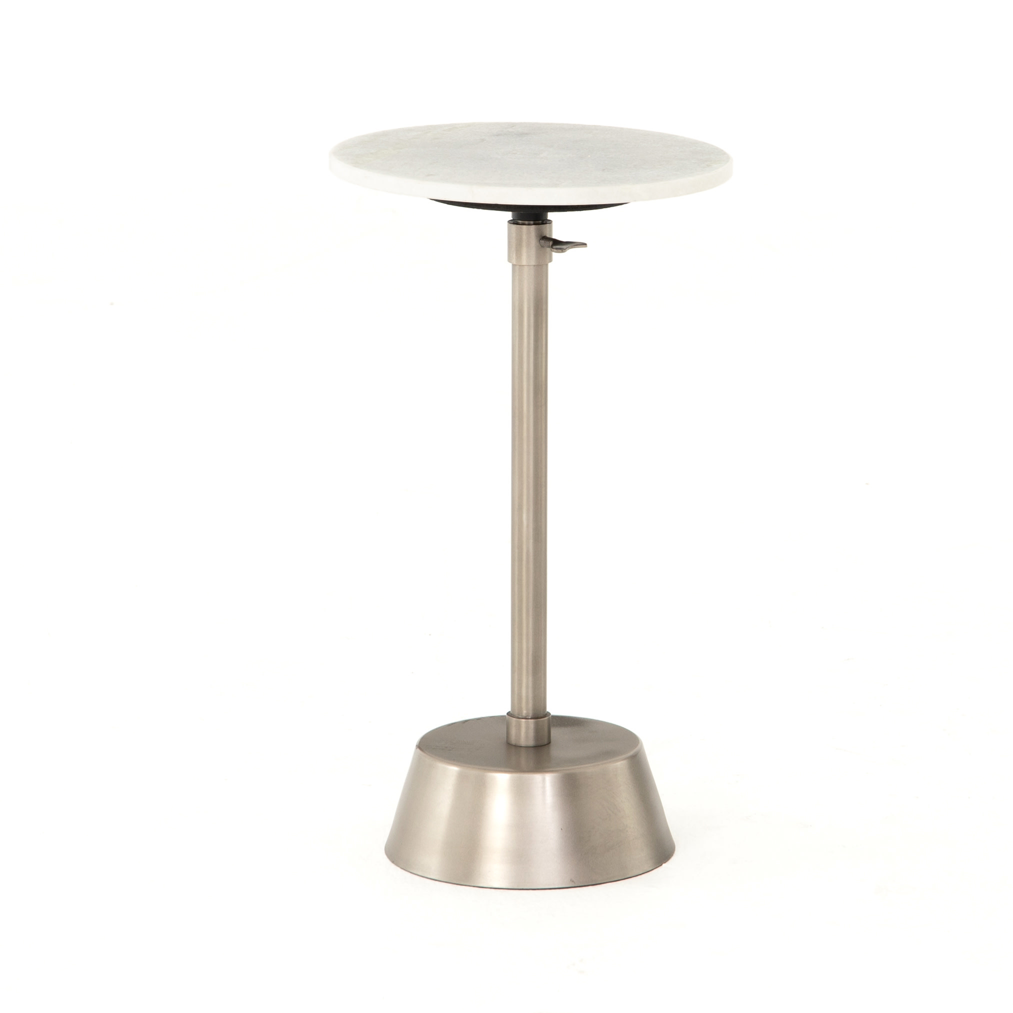 BREA TABLE - PEWTER