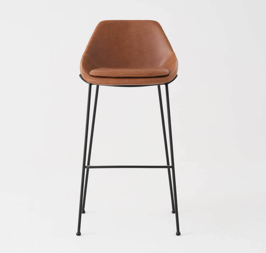 DICKSON COUNTERSTOOL -  BROWN
