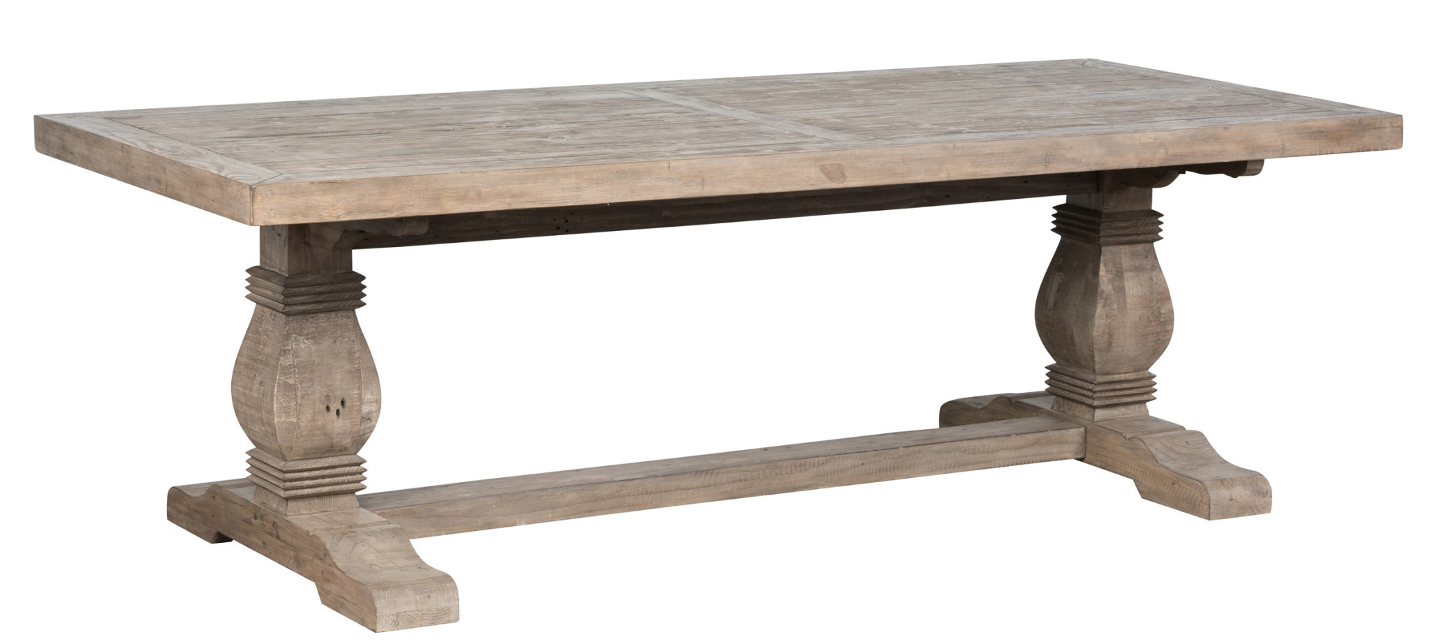 "CALEB 94"" TABLE - DESERT GREY"