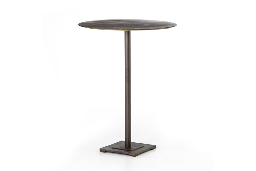 FANNIN BAR TABLE - BRASS