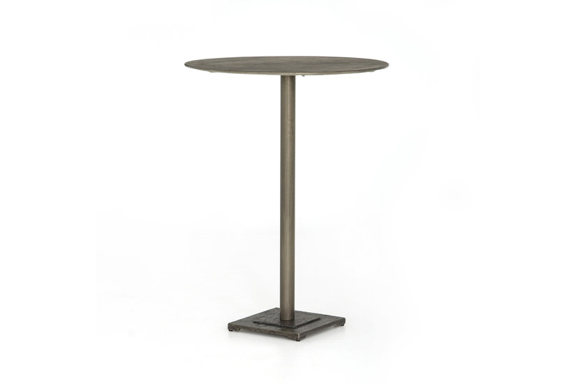 FANNIN BAR TABLE - NICKEL
