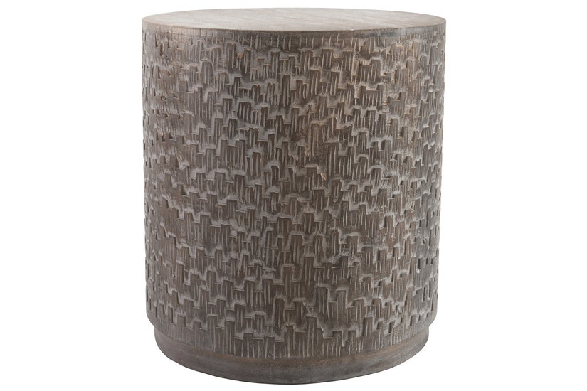 LIMA BARREL END TABLE