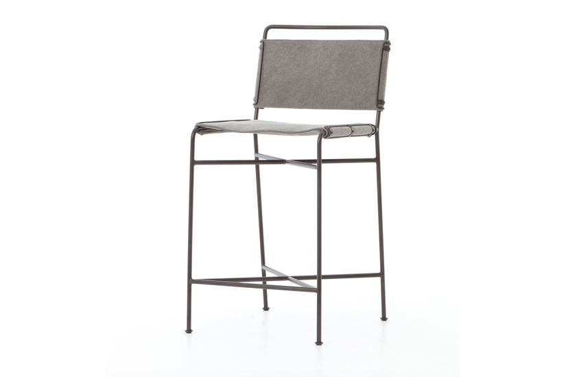 WHALEN COUNTER STOOL - GRAY