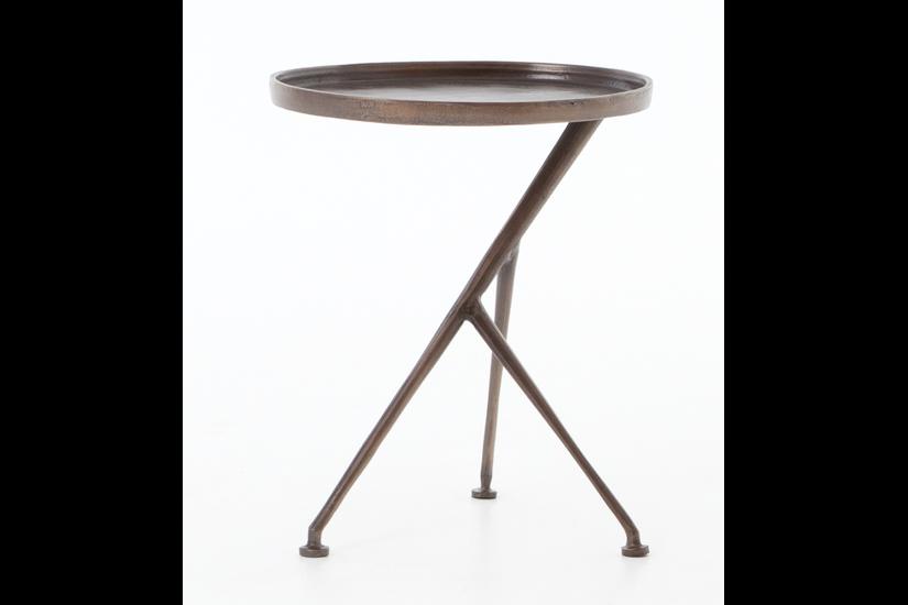 SCHMIDT TABLE - ANTIQUE RUST
