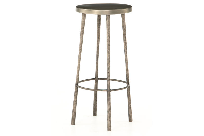 WESTON BAR STOOL - NICKEL