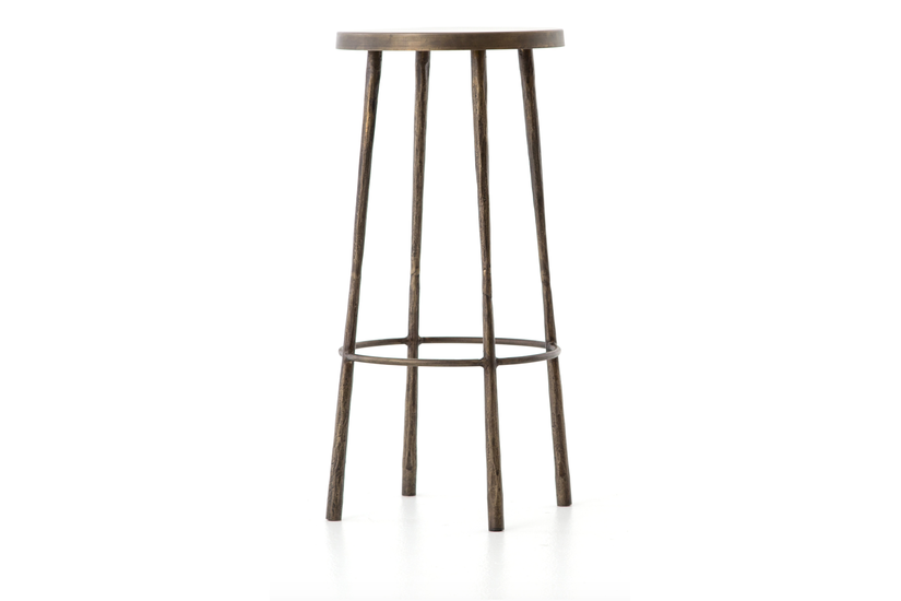 WESTON COUNTER STOOL - BRASS