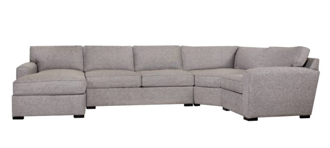 EMMET XL SECTIONAL - STONE