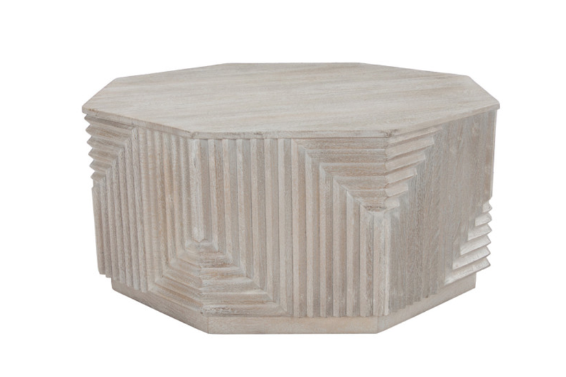 FLYNN OCTAGONAL COFFEE TABLE