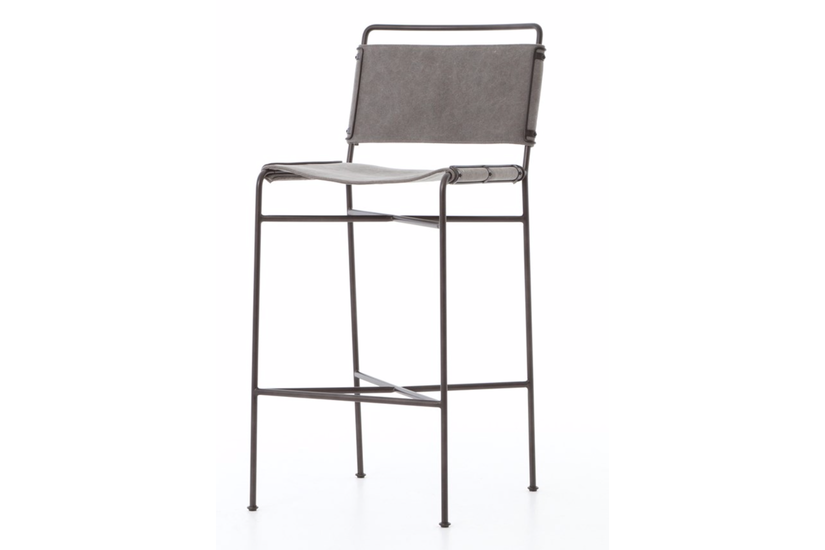 WHALEN BAR STOOL - GRAY