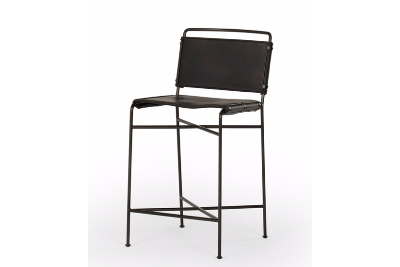 WHALEN COUNTER STOOL - BLACK