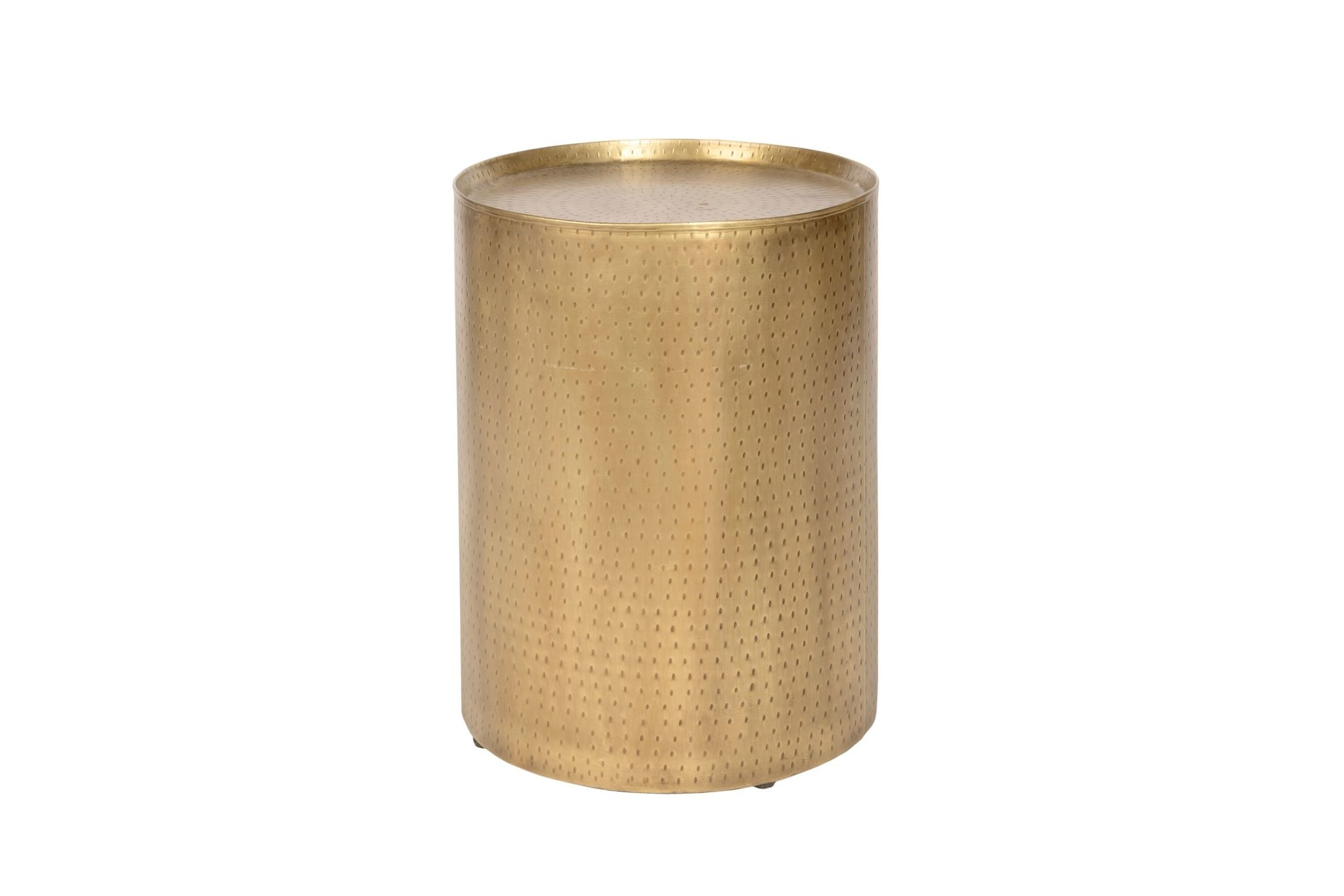 PALA END TABLE GOLD