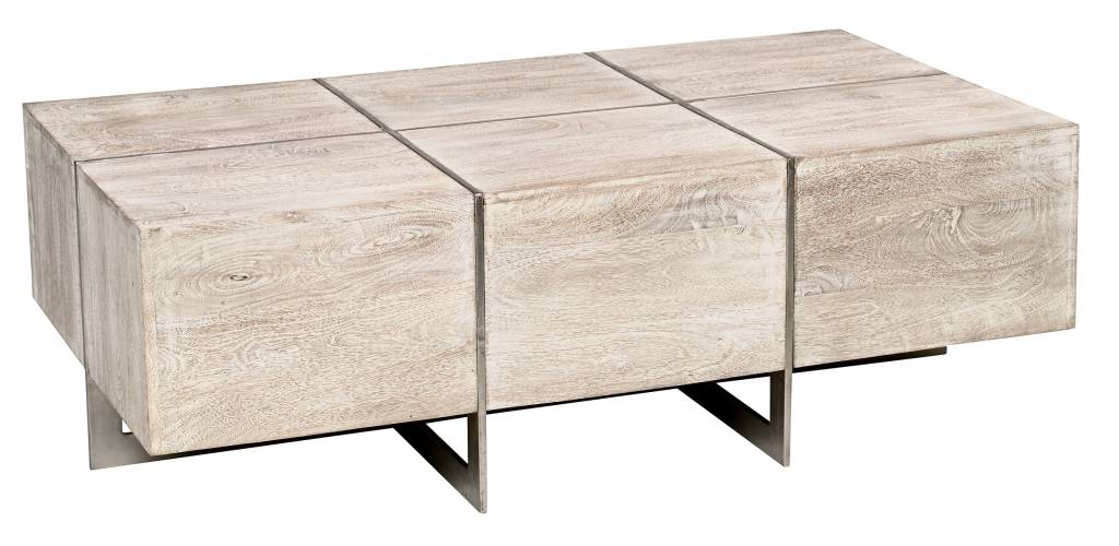 Desmond Rectangle Coffee Table - Grey