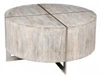 Desmond Round Coffee Table - Grey