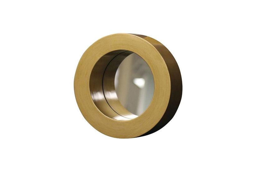 Cane Mirror -  Gold