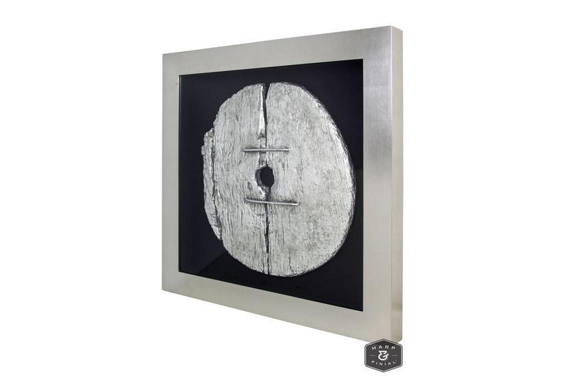 Gombe Disk Framed Art
