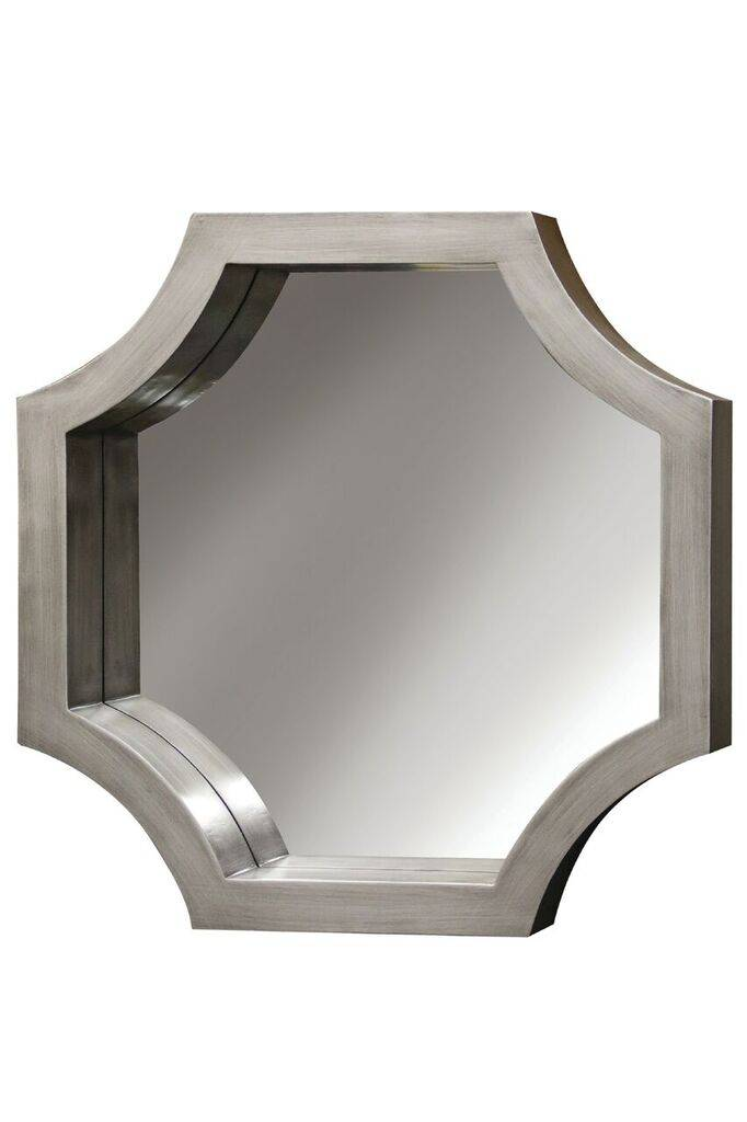 Madison Mirror - Silver