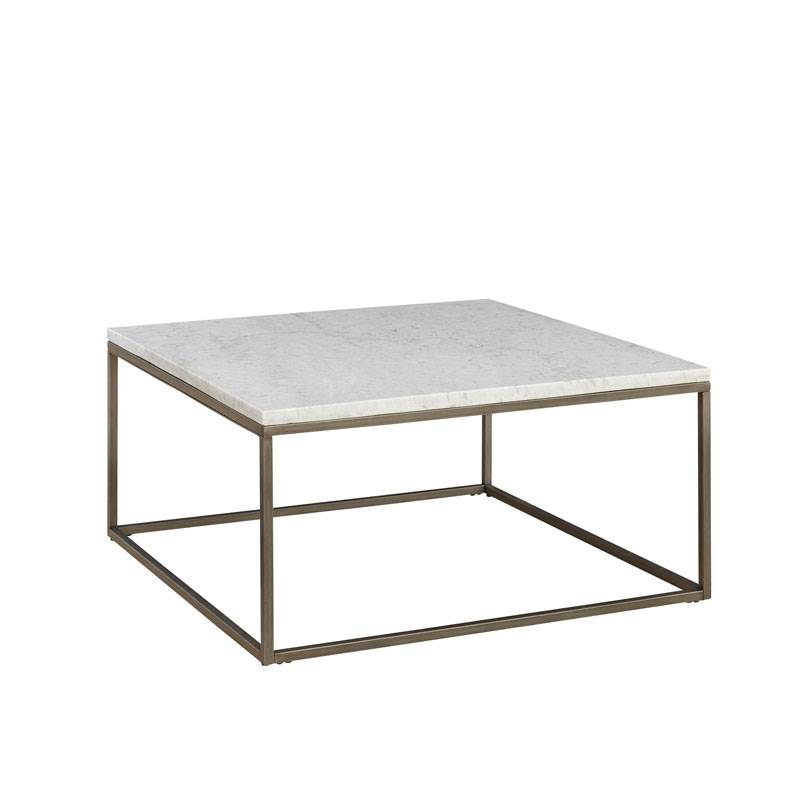 Julien Square Marble Cocktail Table