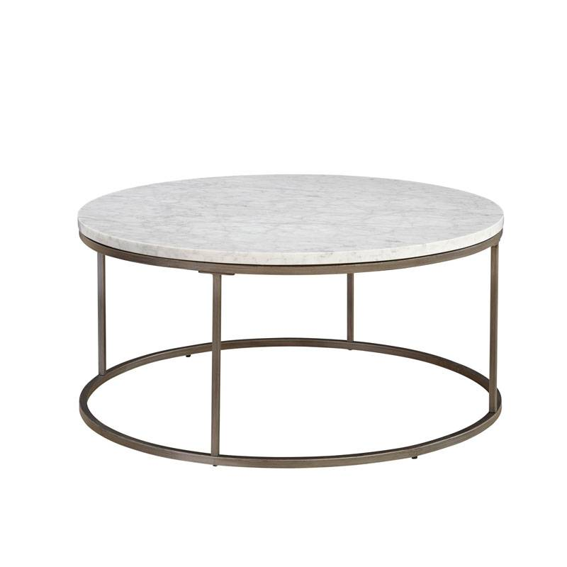 Julien Round Marble Cocktail Table