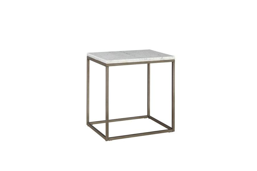 Julien Marble End Table - Rectangle