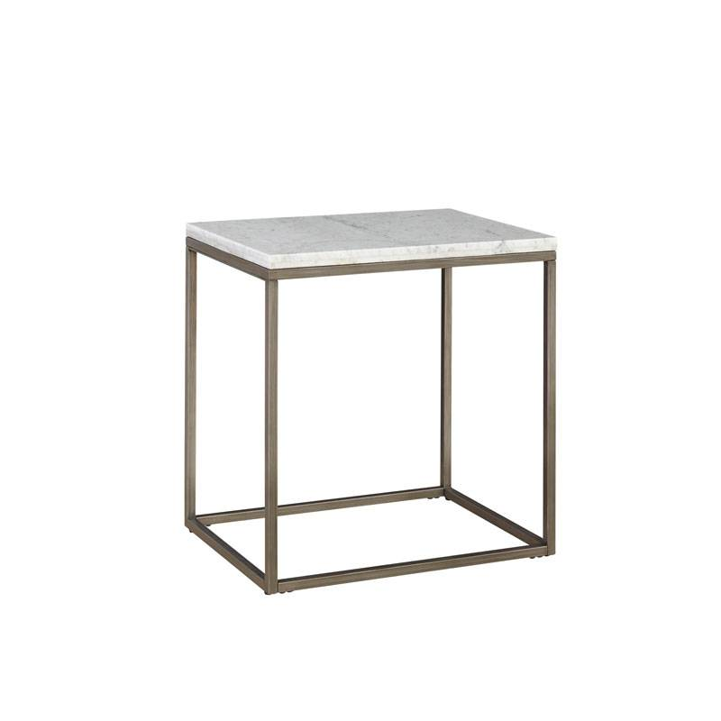 Julien Marble End Table - Rectangle