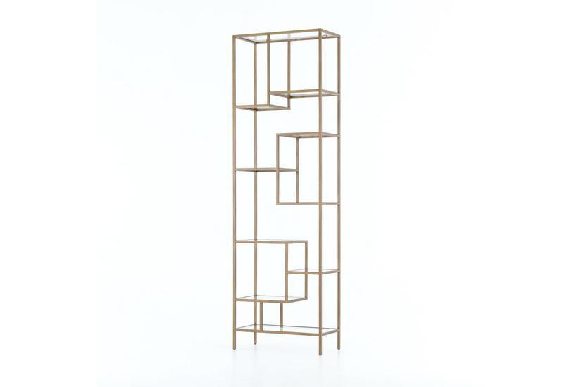 Helena Brass Bookcase